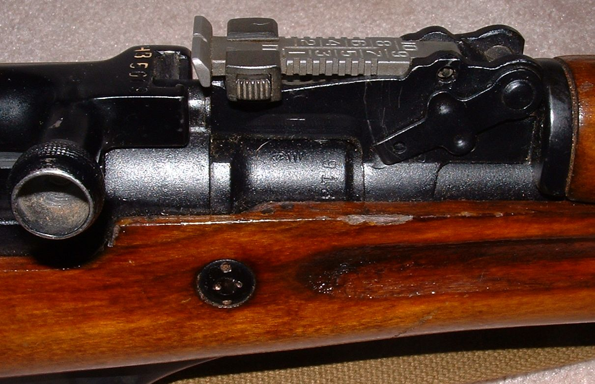 SKS Russian rear sight